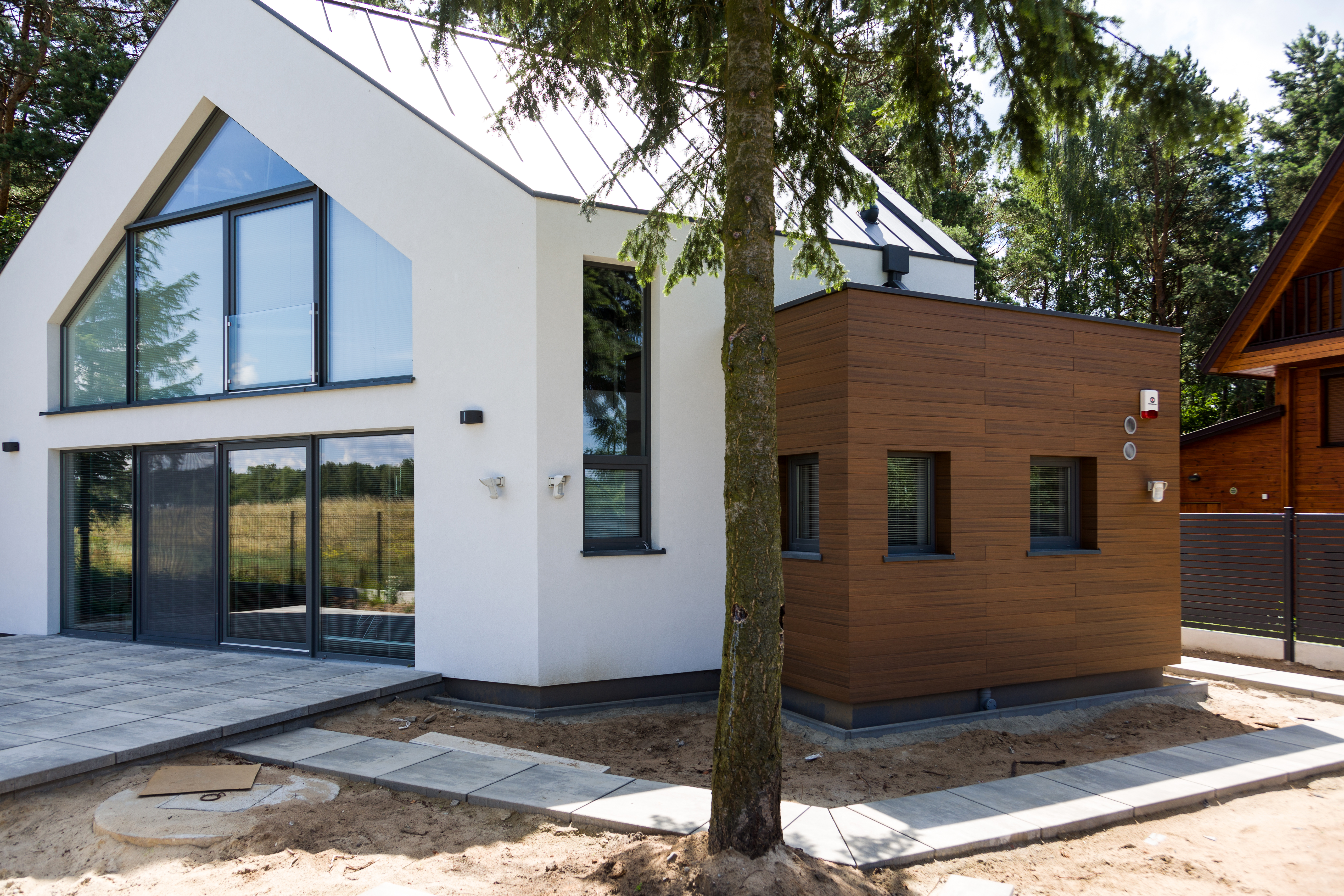 dom parterowy z poddaszem użytkowym New-House