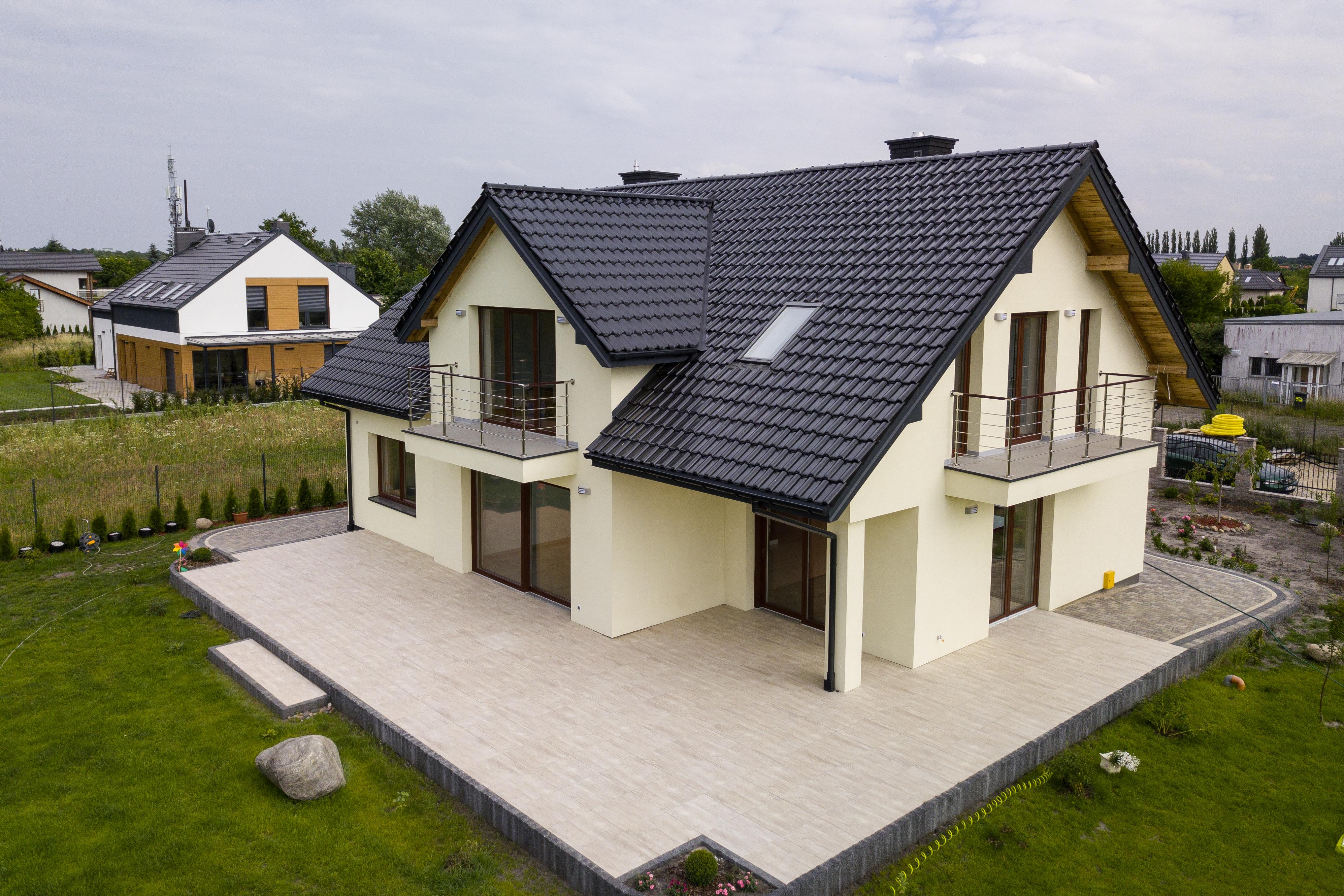 projekt domu jednorodzinnego z poddaszem – New-House