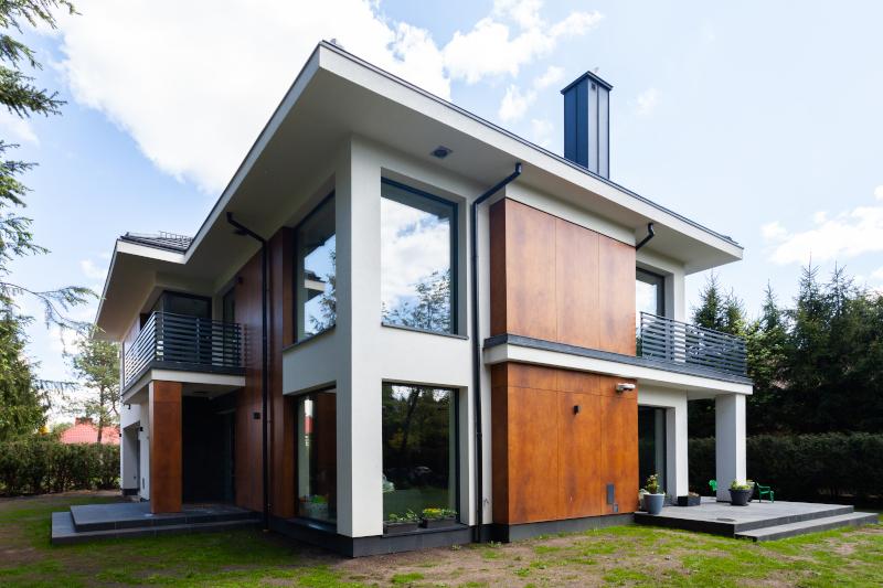 projekt przebudowy new-house