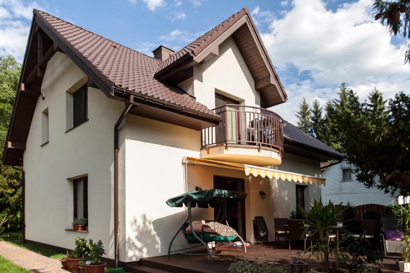 dom parterowy z cegły porotherm